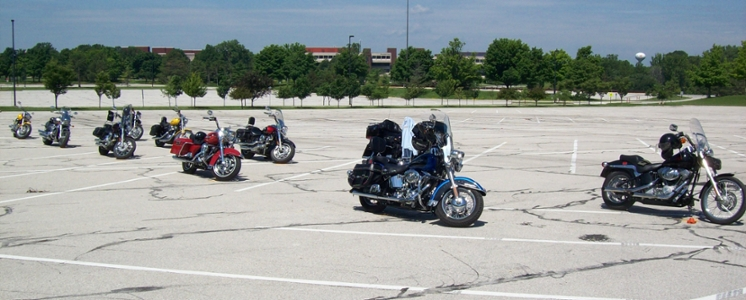 advanced rider course participant motorcycles